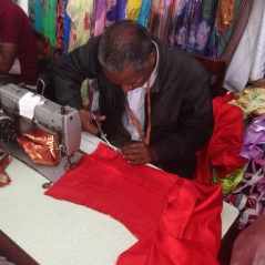 Often looked as a woman's work, the tailors in Eritrea's capital of Asmara are typically male who run the family business and task their younger relatives to help out by sewing dresses and taking measurements.
