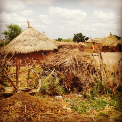 Some homes are built on brick and wood, while others merely survive on sticks and straw tops for shelter. Many of the huts found in Tessenai - a market town in Eritrea just 30 miles from the Sudanese border - are occupied by migrants who come to work.